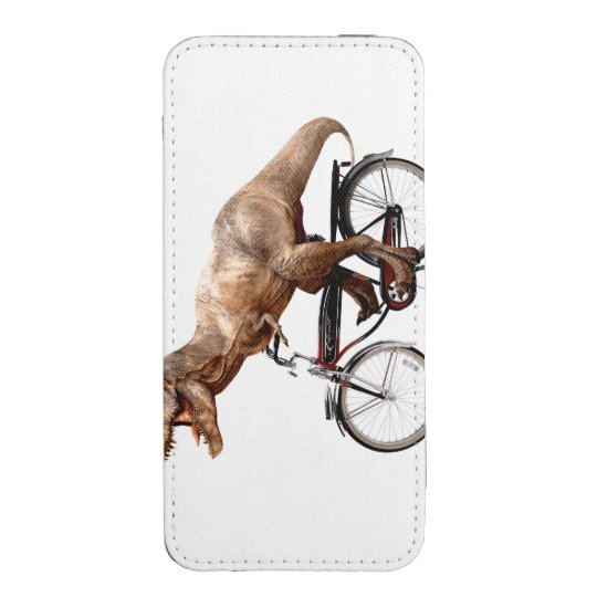 Trex riding bike iPhone pouch