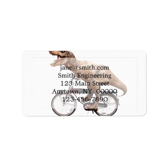 Trex riding bike label