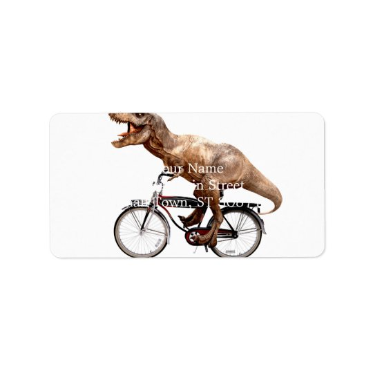 Trex riding bike label