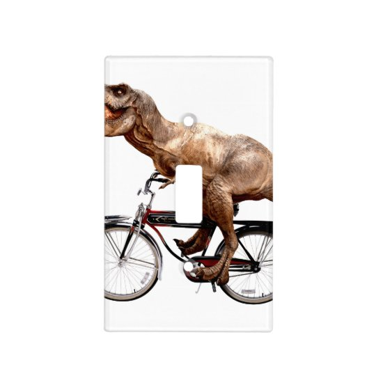 Trex riding bike light switch cover