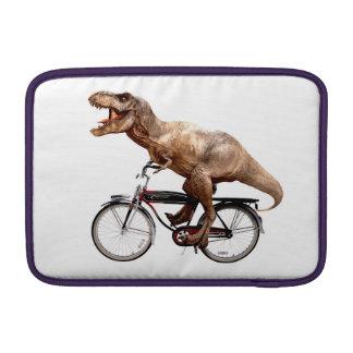 Trex riding bike MacBook sleeve