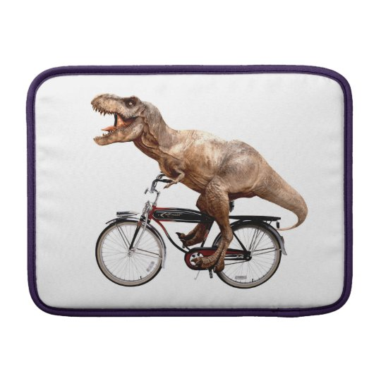 Trex riding bike MacBook sleeves