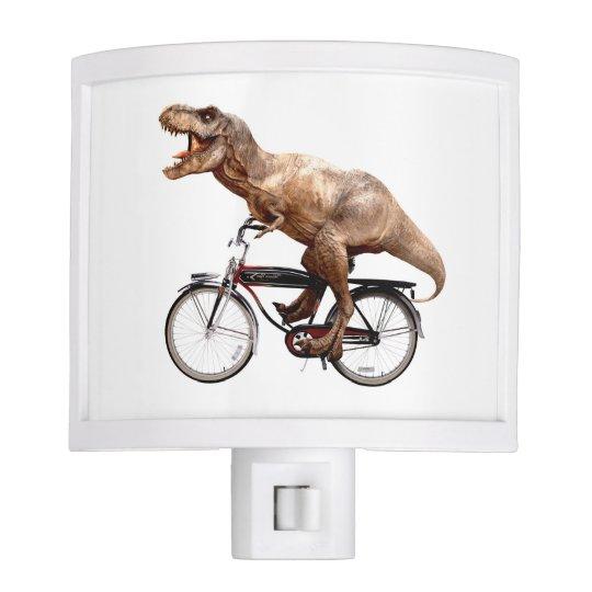 Trex riding bike nite lites