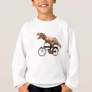Trex riding bike sweatshirt