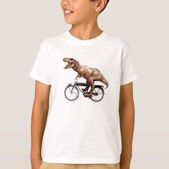 Trex riding bike T-Shirt