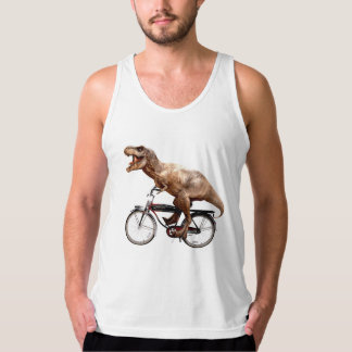 Trex riding bike tank top