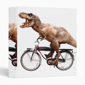 Trex riding bike vinyl binders