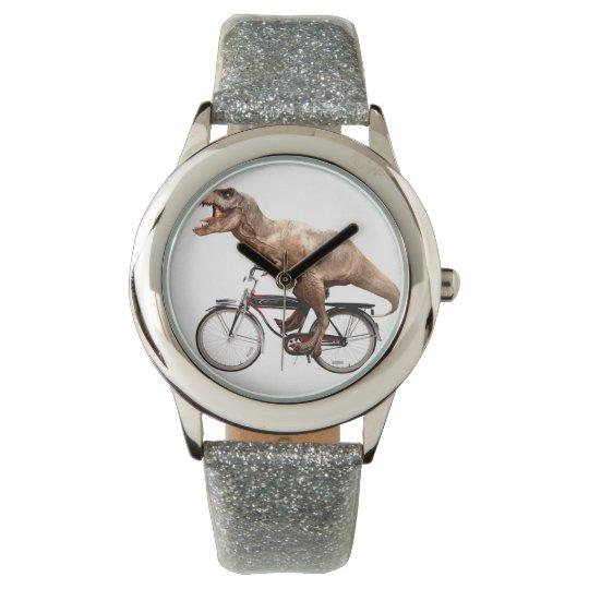 Trex riding bike watch