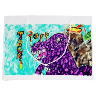 Trex rock large gift bag