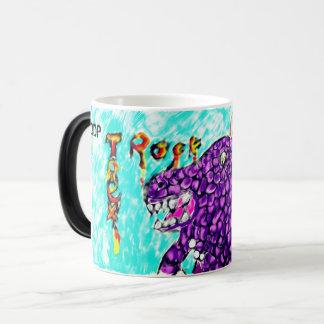 Trex rock magic mug