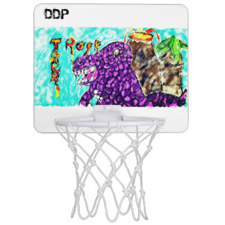 Trex rock mini basketball hoop