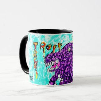 Trex rock mug