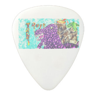 Trex rock polycarbonate guitar pick