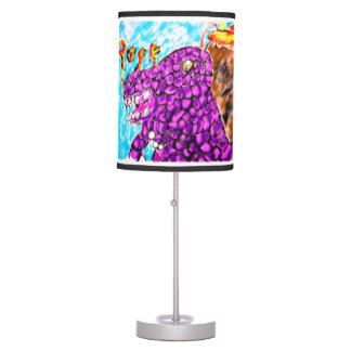 Trex rock table lamp