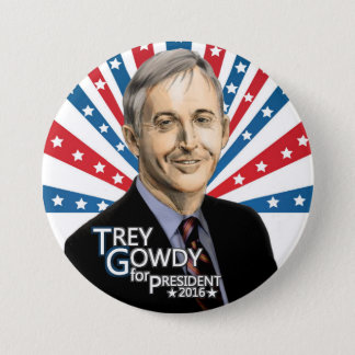 Trey Gowdy for President 2016 3 Inch Round Button