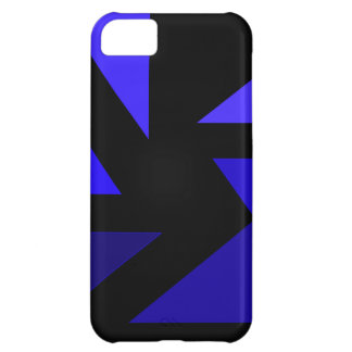 Tri 3 Blue - CricketDiane Abstract PopArt Case For iPhone 5C