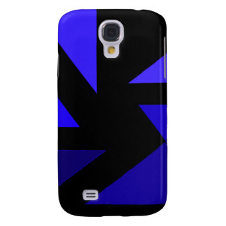 Tri 3 Blue - CricketDiane Abstract PopArt Samsung Galaxy S4 Cover