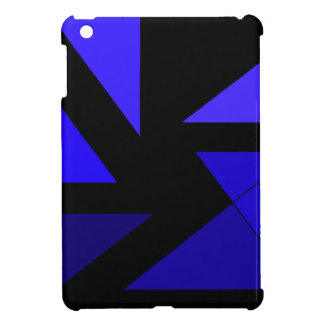 Tri 3 Blue - CricketDiane Abstract PopArt Case For The iPad Mini