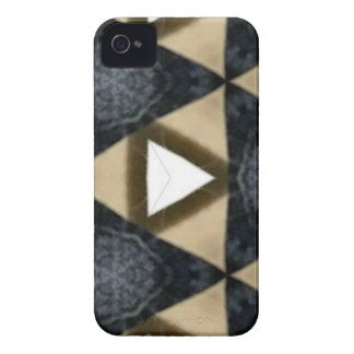 Tri and Tri Again Blue Patterned iPhone 4 Case-Mate Case