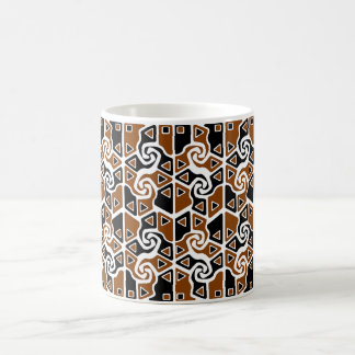 Tri Arrows (full)(burnt orange) Coffee Mug
