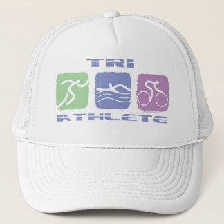 TRI ATHLETE TRUCKER HAT