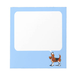 Tri-color Beagle Bay Notepads