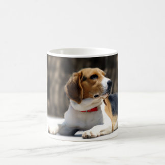 Tri-Color Beagle Coffee Mug