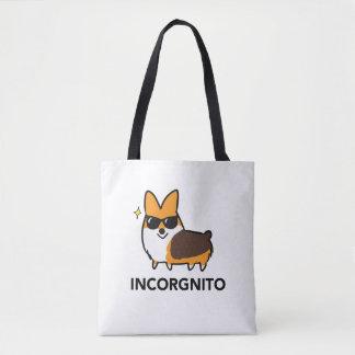 Tri-Color Incorgnito Premium Tote Bag