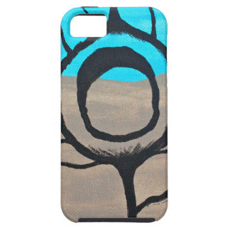 Tri-Color Peacock Feather iPhone 5 Covers