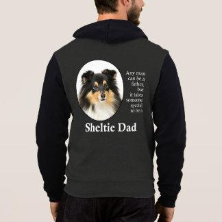 Tri-Color Sheltie Dad Hoodie
