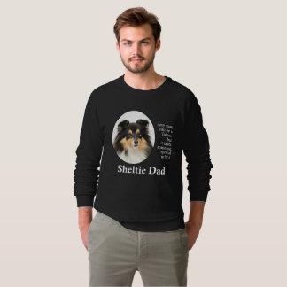 Tri-Color Sheltie Dad Sweatshirt