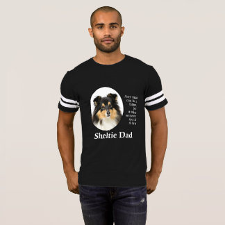 Tri-Color Sheltie Dad T-Shirt