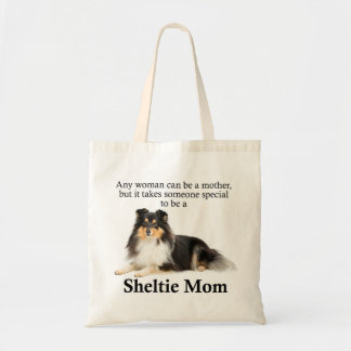 Tri-Color Sheltie Mom Tote