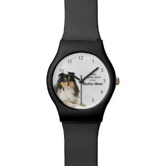Tri-Color Sheltie Mom Watch