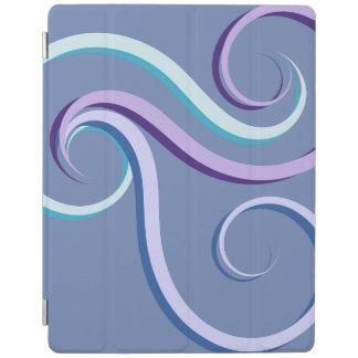 Tri-Color Swirl iPad Cover