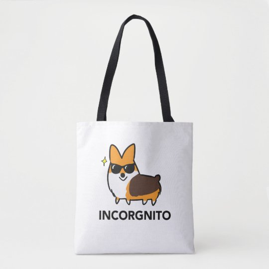 Tri-Colour Incorgnito Premium Tote Bag