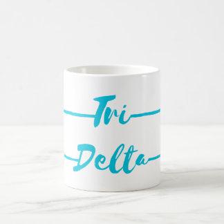 Tri Delta | Arrows Coffee Mug