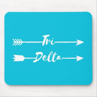 Tri Delta | Arrows Mouse Pad