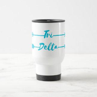 Tri Delta | Arrows Travel Mug