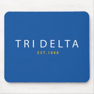 Tri Delta | Est. 1888 Mouse Pad