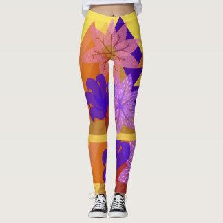 Tri-Flowering Leggings