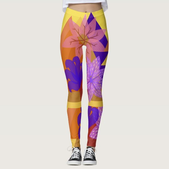 Tri-Flowering Leggings
