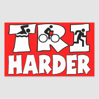 Tri Harder Sticker