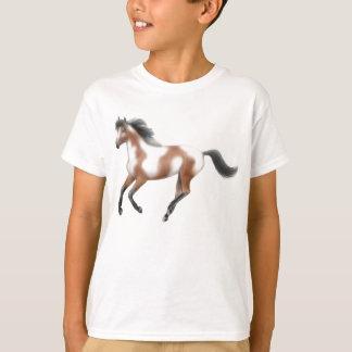 Tri Paint Horse Kids T-Shirt