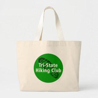 Tri-State Hiking Club - Circle Logo Jumbo Tote Bag