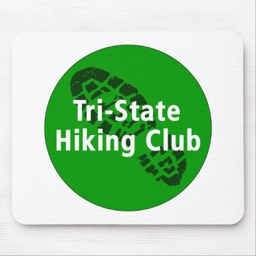 Tri-State Hiking Club - Circle Logo Mouse Mat