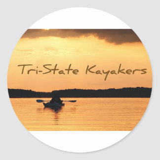 Tri-State Kayakers Classic Round Sticker