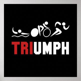 Tri Triumph Poster
