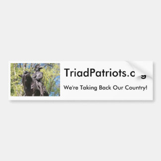 Triad Patriots Bumper Sticker