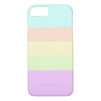 TRIADIC/ANALOGOUS PASTEL COLORS: Lemon Chiffon iPhone 8/7 Case